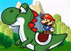 Mario and Yoshi is on an adventure to find the princess who was lost in the dinosaur world. Find the way to rescue the princess by exploring the dinosaur world.